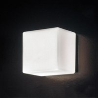 Wholesale Led Lights For Backdrop - LED Wall Light Glass Wall Lamps Modern White Sugar Ice Cube Backdrop Light For KTV Bar Room Asile Ice Brick Lamp