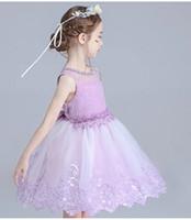 Wholesale Dress Baby Girl Winter - new autumn winter girl dress warm dress baby kids clothing
