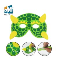 Wholesale Tiger Party Supplies - eva animal cartoon mask designs Monkey Ladybug Lion Tigers animal masks cartoons Christmas party supplies eye mask