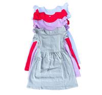 Wholesale Smocked Baby Dresses Wholesale - 2017 summer designer baby frocks 100% cotton new model girl smocked dress child ruffle boutique dress