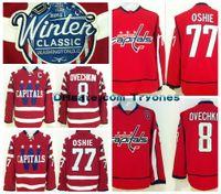 10f202bd738 ... Ice Hockey Men Full 2015 Winter Classic Washington Capitals Hockey  Jerseys 8 Alex Ovechkin 77 T.J. ...