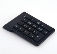 2.4G USB Numeric Keypad Wireless Number Pad 18 Tasten Mini Digital Tastatur für iMac / MacBook Air / Pro Laptop PC Notebook Desktop