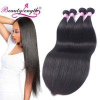 Wholesale Chinese Wholesale Beauty Products - Brazilian Virgin Human Hair Weave 4 Bundles Cheap Straight Human Hair Bundles 4pcs Lot Unprocessed Beauty Length Weave Human Hair Product