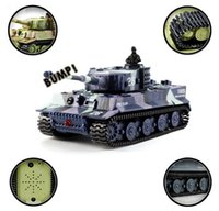 Wholesale Toy Tank Battle - Wholesale- Children's Day Gift Great Wall 2117 RC Battle Tank 14CH 1:72 Remote Control Simulated Panzer Mini Tank For Children Toys Gift