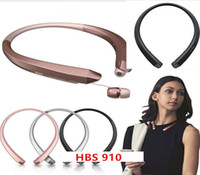 Wholesale Earphone Good Quality - HBS910 Headphone HBS 910 Earphone Sports Stereo Bluetooth 4.1Wireless HBS-910 Headset Headphones With Retail Package good quality