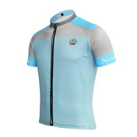 Wholesale Cycling Jersey Gray - Customized NEW Hot 2017 Blue lines Gray JIASHUO mtb road RACING Team Bike Pro Cycling Jersey   Shirts & Tops Clothing Breathing Air