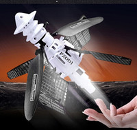 Wholesale Infrared Helicopter - RC Helicopter Altitude Sensing Intelligent Induction Flying Satellite flying RC Launcher Remote Control Wireless Infrared Toys