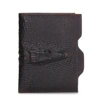 Wholesale Cheap Designer Shorts Men - 2017 New Male Genuine Leather Wallet Coin Zipper Pocket Fashion Short Design Men's Wallet Cheap Designer Men Wallets N0053
