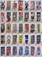 Wholesale Cool Sleeve Tattoos Men - Wholesale Multi style 100% Nylon elastic Fake temporary tattoo sleeve designs body Arm stockings tatoo for cool men women DHL Free shipping