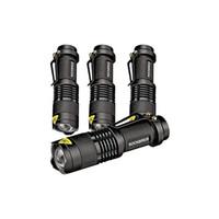 melhores ferramentas para camping venda por atacado-2017 Rockbirds Lanterna LED, A100 Mini Super Brilhante 3 Modo Tactical Lanterna, Melhores Ferramentas para Caminhadas, caça, pesca e Camping