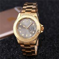 6a1eb1cd763 aaa qualidade top venda novos produtos de moda marca cinza dial automático  mens relógios de luxo de ouro barato data mecânica dia metal inoxidável mesa