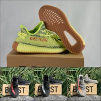 2018 SPLY Boost 350 V2 Frozen Yellow Beluga 2.0 Botas Bred Creme Branco Cobre Zebra Cheap Sports Sneakers Kanye West Running Shoes