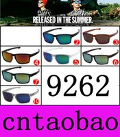 Wholesale Super Sunglasses High Fashion - 9262 Price 10 colors Super Cool High quality Men Women Fashion Sunglasses Outdoor sports glasses Windproof cycling goggles free shipping