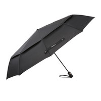 Wholesale Double Golf Umbrella - TOMSHOO Windproof Double Canopy Umbrella Automatic Auto Open Close Umbrella Automatic Folding Travel Golf Umbrella with 10 Ribs Y4107X