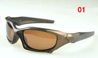 copos de pipa venda por atacado-Alta Qualidade Marca Esportes PitBoss Óculos De Sol Das Mulheres Dos Homens de Moda de Metal Preto Lente De Óculos De Sol Polarizada 61mm
