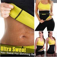 Wholesale Sauna Body Shaper - Wholesale 5 pieces Thermal Slimming Waist Belt Shaper Sauna Fitness Women Body Shaper Sports Vest S-XXXL with Retail Boxes