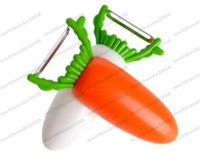 Wholesale Gadgets Sale Free Shipping - Hot Sale New Arrival Creative Carrot Design 1pcs Kitchen Gadgets Fruit Tools Multifunctional Fruit peeler Bottle Opener Free shipping MYY