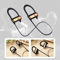 Wholesale Iphone Sound Bluetooth - Q7 Wireless Sport Bluetooth 4.1Headset Stereo Sound Earphone in Ear Headsets for Samsung S8 Note 8 with retaill pack