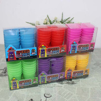 Wholesale Speed Stacking Cups Toys - Wholesale-Baby Children Kids Educational Toys Mini Speed Magic Folding Cup Stacking Flying Pagoda Early Development