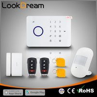 LookDream Smart Touch Sicherheit Wireless GSM Einbrecher Home Alarm Mit RFID Unternehmen Direktor Vertrieb Low Consumption Power Home Safe