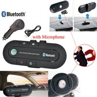 Sonnenblende Bluetooth Freisprecheinrichtung MP3-Musik-Player Wireless Bluetooth Freisprecheinrichtung Bluetooth-Empfänger Lautsprecher-Ladegerät