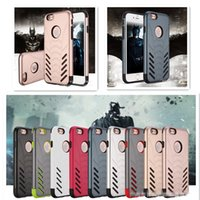 Wholesale Bat Case Iphone - New Arrival Bat Ares mobile phone case for apple iphone 7   6s   6 Plus Two In One Anti-smashed protective shell