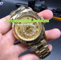 Wholesale led watches online - Limited edition luxury watches men s watches K gold watch SKY date chronograph watches Leading fashion trends size mm