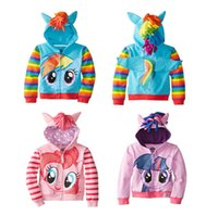 Kleine Pony Cosplay Kostüme Kaufen -Mein kleines Pony Mädchen scherzt Flügel En Bas Alter Cosplay Kostüme Nette Hooded Sweatjacke Zip Jacket anime