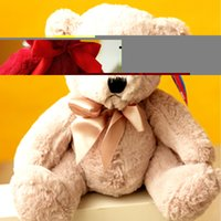 Wholesale Ted Bear Movie Wholesale - Wholesale- Colorful teddy bear ted plush toy peluche bear soft stuffed ted for christmas gifts movie toys for children kawaii ted baby toys