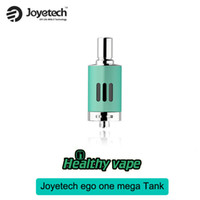 Wholesale Ego Steel - Sale!! Original Joyetech eGo ONE Mega VT Atomizer 4ml eVic-VT Vaporizer Tank Stainless Steel VS Authentic OBS Crius RTA Tank