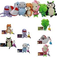 Wholesale Rose Video - Mini Kimochis Mini Mood Doll Plush toys plush dolls Set of 7 Bug,Huggs,Bella Rose,Cat,Dove,Clover and Cloud Plush 18-21cm