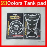 Wholesale 1995 Cbr F3 Tank - 3D Carbon Fiber Gas Tank Pad Protector For HONDA CBR600F3 95 96 97 98 CBR600 F3 CBR 600 F3 1995 1996 1997 1998 3D Tank Cap Sticker 23Colors