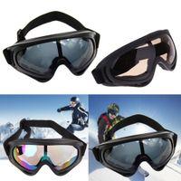 Wholesale Sunglasses Snowboard - New Snowboard Dustproof Sunglasses Motorcycle Ski Goggles Lens Frame Glasses Paintball Outdoor Sports Windproof Eyewear Glasses