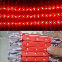 mini modulo al por mayor-68mm * 10mm a prueba de agua SMD 2835 LED luz de la lámpara del módulo LED luz de fondo para mini signo y letras DC12V 3led 0.72W envío rápido