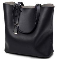 Wholesale Leather Bag Ladies Tassel Totes - 2017 New Fashion Woman Shoulder Bags Luxury Handbags Ladies Women Bags Designer High Quality PU Totes Microfiber Pu Leather Bucket