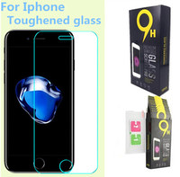 Wholesale Screen Protection For Huawei - For Iphone X Screen Protector Galaxy S7 Tempered Glass 0.26mm 2.5D Iphone 7 Huawei P10 Protecter Screen Film Protection With Paper Package