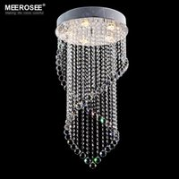 Modern Crystal Chandelier Light Fixture Curtain Lustres For Aisle Bedroom Lighting Ceiling Lamp 100 Guanrantee UK