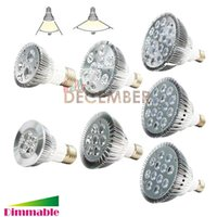 Regulable 9W 10W 14W 18W 24W 30W PAR20 PAR30 PAR38 E26 E27 Luz LED Bombilla Proyectores LED