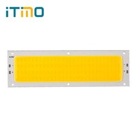 Wholesale Cree Led Lighting Strip Lights - Wholesale- iTimo 120mmx36mm COB 10W 1000LM LED Strip Lamp Lights Bulb For DIY High Quality Warm White Pure White 12V - 24V Super Bright