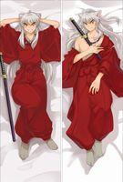 anime kucakacık yastıklar toptan satış-Toptan-Yastık Kılıfı Japonya Anime sarılma Vücut Yastık kılıfı Şeftali Cilt 150 * 50 NK086 Inuyasha