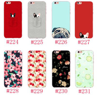 Для iPhone 7 Case 3D Kawaii Pocket Dog Flower Lemon Clear Phone Cases Обложка для iphone7 плюс 6 с 6 с плюс 6plus Мода