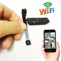 Wholesale Wireless Ip Ccd Camera - P2P Wifi Hidden Spy Camera Wireless DIY Module Spy Nanny Cam WIFI IP Pinhole Surveillance Camera Support IOS Android APP Remote View