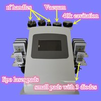 Wholesale Rf Cavi System - Best liposuction machines cavitation vacuum rf system 6 in 1 portable ultrasound cavi lipo lasers slimming machine for sale