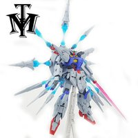 "Wholesale Gundam Seed - Anime DevilArts Mobile suit Seed Astray 7"" MG 1 100 Providence am ZGMF-X13A Model Assemble Action Figure Robot kids Toy Gift"