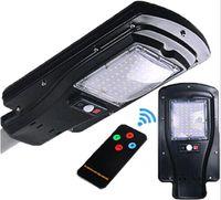 Wholesale 6v Remote Control - Solar Lights Led Street Light Outdoor Waterproof IP65 Sensor With Remote Control LED Solar Light Garden Street Lamp