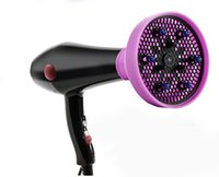 Wholesale Dual Ce - Care Silicone Folding Hairdryer Diffuser For Most Hair Dryer Blowers Makeup Styling Tools Difusor Para Secadores
