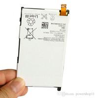 xperia z1 telefonu toptan satış-100% Yeni akıllı Cep Telefonu Sony Xperia Z1 Için Yedek Pil 2300 mah Kompakt Mini Z1mini D5503 SO-04F Bateria