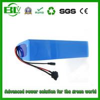bateria de bateria de lítio de 48v venda por atacado-China estoque 48 V 21Ah bateria eBike 30A BMS para Scooter elétrico bateria de lítio para bicicleta elétrica 48V 1000W 850W motor atacado