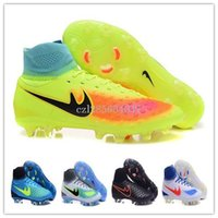 Wholesale Fg Mixes - 2016 Magista orden II FG Soccer Shoes 38-46 High quality sports sneakers wholesale price football shoes accept drop shipping mix order
