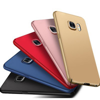 Wholesale Cover Protection For Galaxy S4 - Ultra thin Matte Hard PC Case Luxury 360 Protection Slim Ultrathin Full Cover Frosted Back Skin for Samsung Galaxy S4 S5 S6 S7 S8 Edge Plus